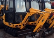 2008 JCB 8014 CTS 1.5T MINI EXCAVATOR WITH FULL ENCLOSED CAB