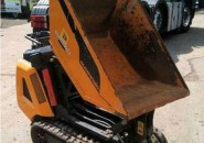 2008 JCB HTD5 TRACKED DIESEL 500KG TIGHT ACCESS HIGH TIP