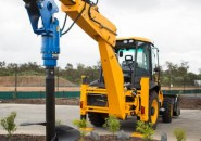 AUGER TORQUE EARTH DRILLS BACKHOES