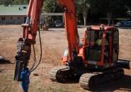 AUGER TORQUE EARTH DRILLS  EXCAVATORS 8T TO 15T