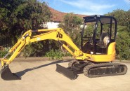 "2006 JCB 8027 ZTS 2.8 TONNE ZERO SWING MINI EXCAVATOR ""LESS THAN 1350 HOURS"" LATE MODEL WITH LOW HOURS, REASONABLE OFFERS CONSIDERED"