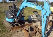 """2011 AIRMAN AX35U-5F 3.5 TONNE EXCAVATOR WITH GRAB, 4 BUCKETS & ONLY 1400 HOURS """"AS NEW MACHINE SO DON'T MISS OUT ON A GENUINE BARGAIN"""""""