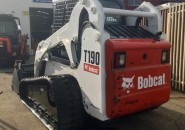 "BOBCAT T190 TRACKED MINI SKID STEER LOADER WITH A 4 IN 1 BUCKET ""ONLY 296 HOURS"" LATE MODEL MACHINE WITH LESS THAN 300 GENUINE HOURS"""
