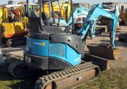 "2011 AIRMAN AX35U-5F 3.5 TONNE EXCAVATOR WITH GRAB, 4 BUCKETS & ONLY 1400 HOURS ""AS NEW MACHINE SO DON'T MISS OUT ON A GENUINE BARGAIN"""