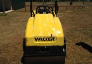 "2008 WACKER RD12 DUAL SMOOTH DRUM 1.2 TONNE VIBRATORY COMPACT ROLLER ""UNDER 700 HOURS SO DON'T MISS OUT ON THIS BARGAIN"