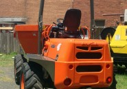 "AUSA D600APG 4X4 KUBOTA TURBO DIESEL 6 TONNE ARTICULATED SWIVEL SITE DUMPER ""LATE MODEL WITH LESS THAN 400 GENUINE HOURS"""