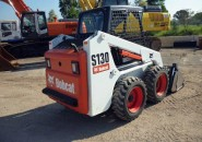 "2011 BOBCAT S130 SKID STEER LOADER WITH A 4 IN 1 BUCKET ""ONLY 200 GENUINE HOURS"" LQQK…..AS NEW MACHINE SO DON'T MISS OUT ON A BARGAIN"