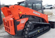 "2014 KUBOTA SVL90 A/C CLOSED CAB TRACKED SKID STEER LOADER WITH A 4 IN 1 BUCKET ""LATEST MODEL MACHINE WITH LESS THAN 100 GENUINE HOURS"""