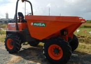 """AUSA D600AP 4X4 KUBOTA TURBO DIESEL 6 TONNE ARTICULATED SITE DUMPER """"LATE MODEL WITH LESS THAN 1200 GENUINE HOURS"""""""